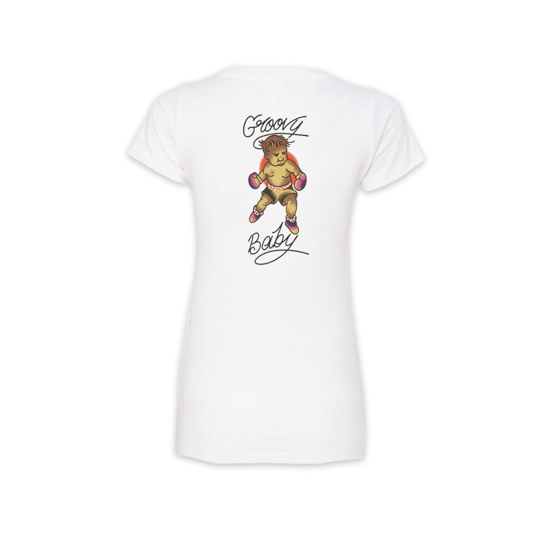 Image of Groovy Lando Signature V-Neck Tee Women's