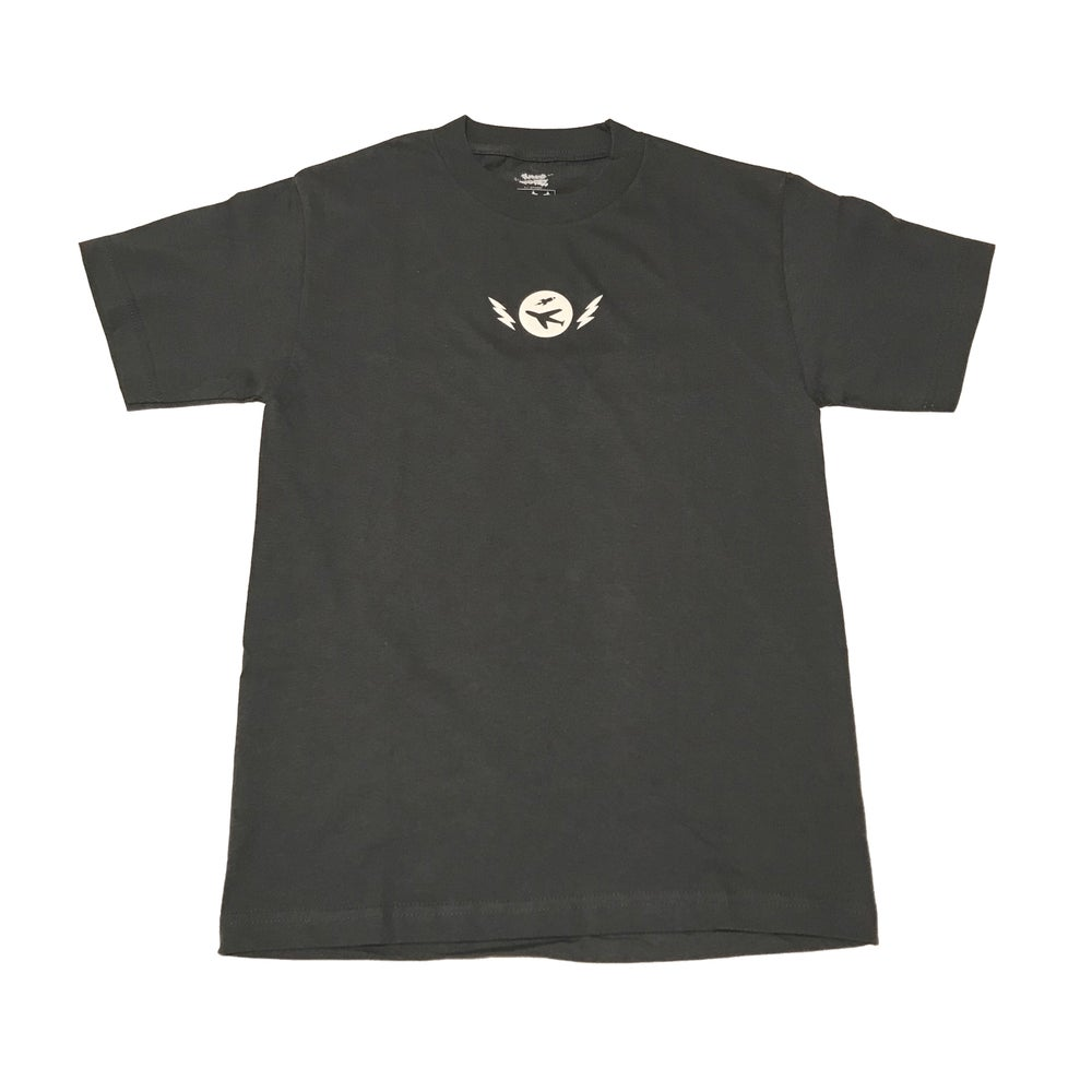 Image of Pilot Boyz Logo Tee in Charcoal