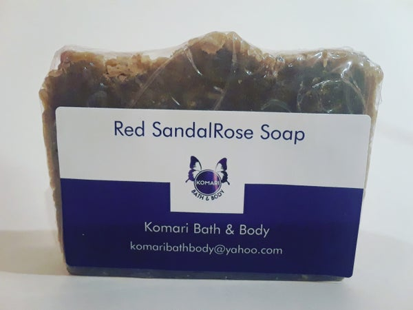 Image of Red SandalRose Soap