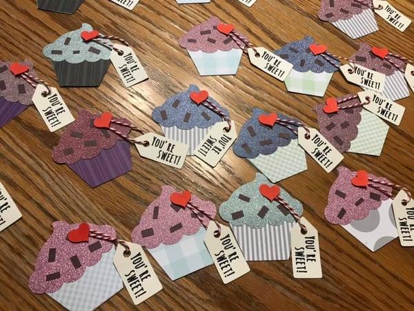 Image of Cupcake Valentines