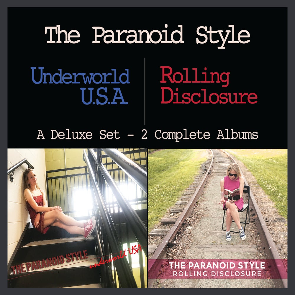 Image of TWO ALBUMS, ONE CD! UNDERWORLD U.S.A. AND ROLLING DISCLOSURE! BARGAIN HUNTERS REJOICE! LIMITED!