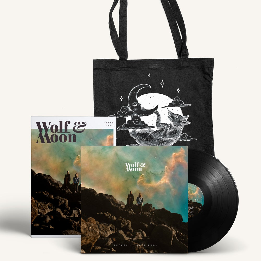 Image of Before It Gets Dark - Vinyl, a Mag in a Bag