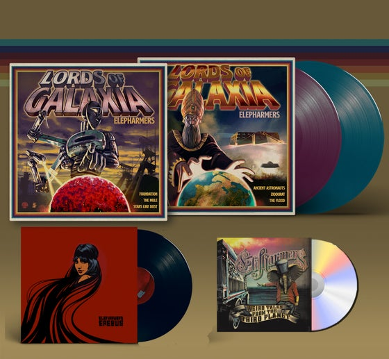 Image of Pre-order! The Weird Galactic Trilogy: 2 LP ALBUM + 1 CD