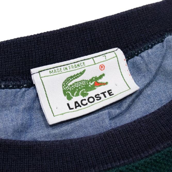 Image of Lacoste Vintage Crewneck Color Block Size 7