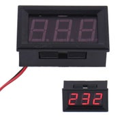 "Image of Digital Voltmeter 5v - 120v DC 0.56"" LED DISPLAY Red"