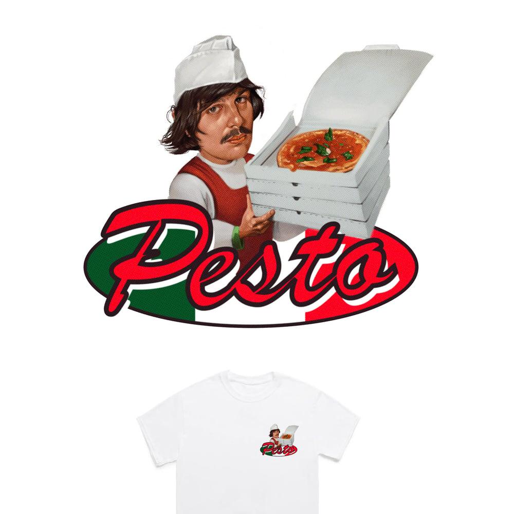 Image of Calcutta: Pizza Pesto T-Shirt