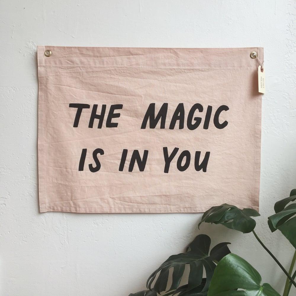 Image of MAGIC Flag - Pale Pink