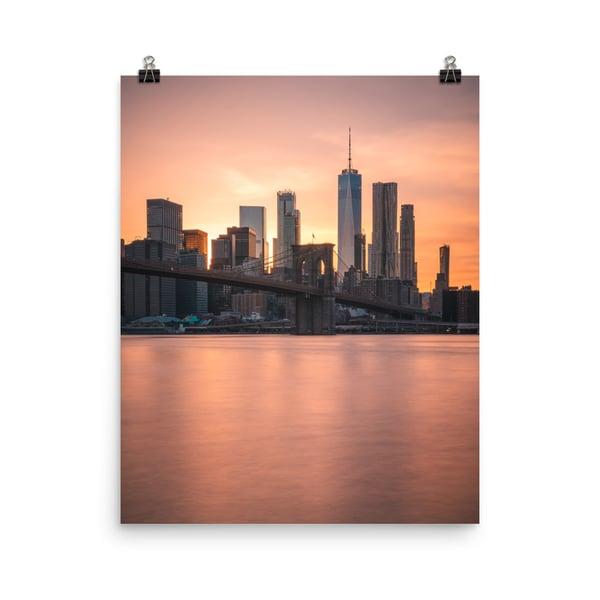 Image of New York Sunset