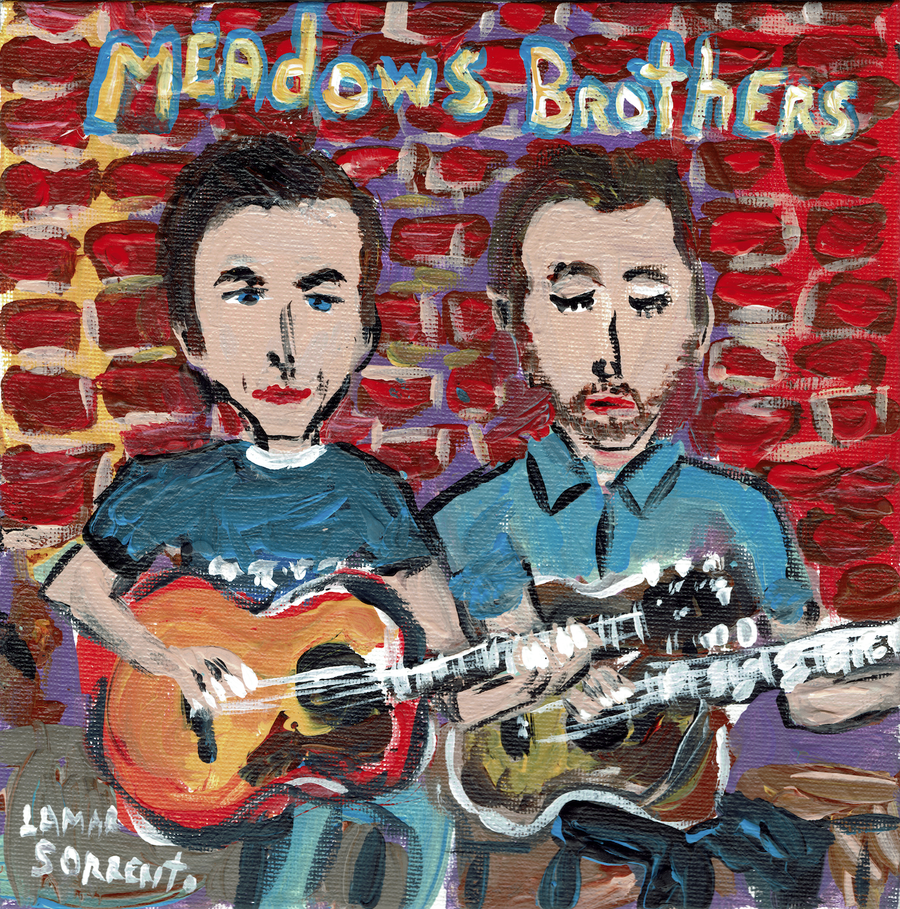 "Image of The Meadows Brothers - When You Were Mine b/w Steel Rail Blues (Translucent Green 7"" Single)"