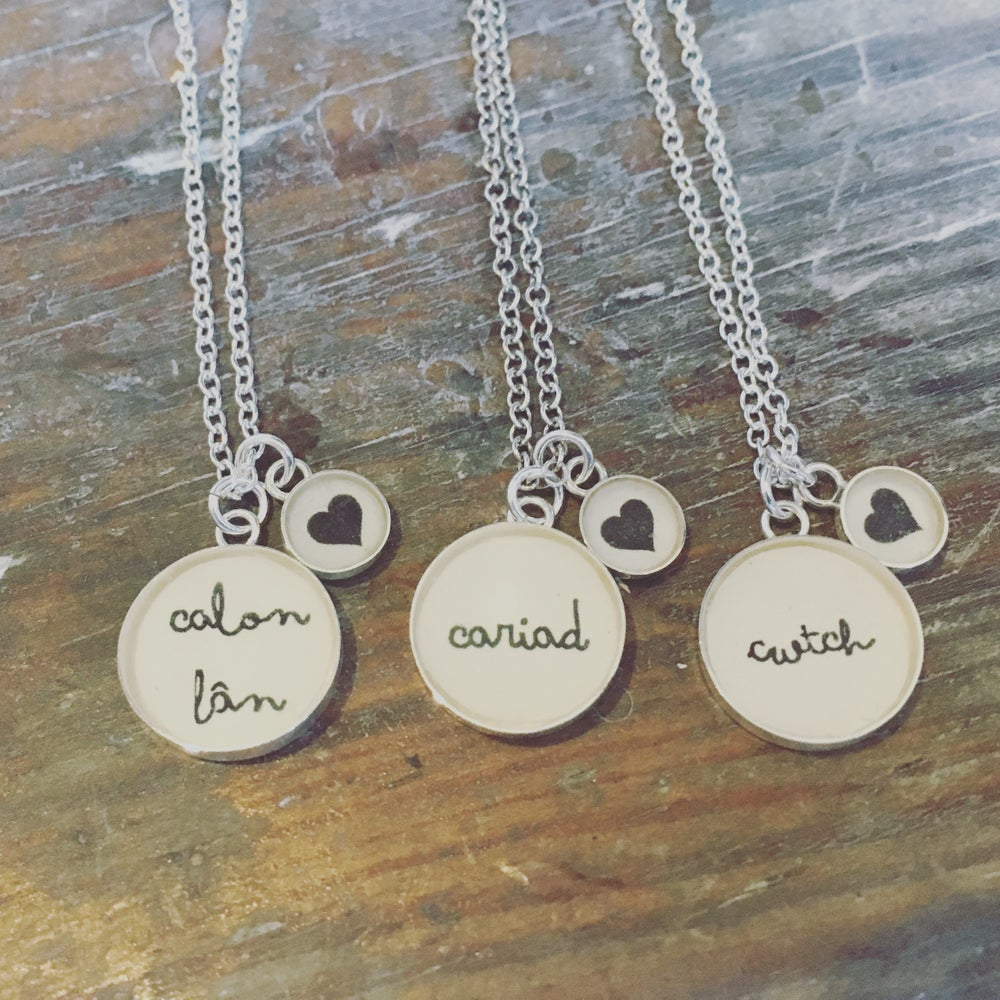 Image of Welsh Words Pendant