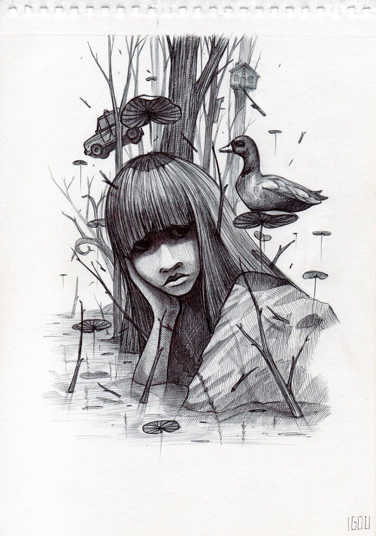 """Image of IGOU """"Sketch 6"""""""