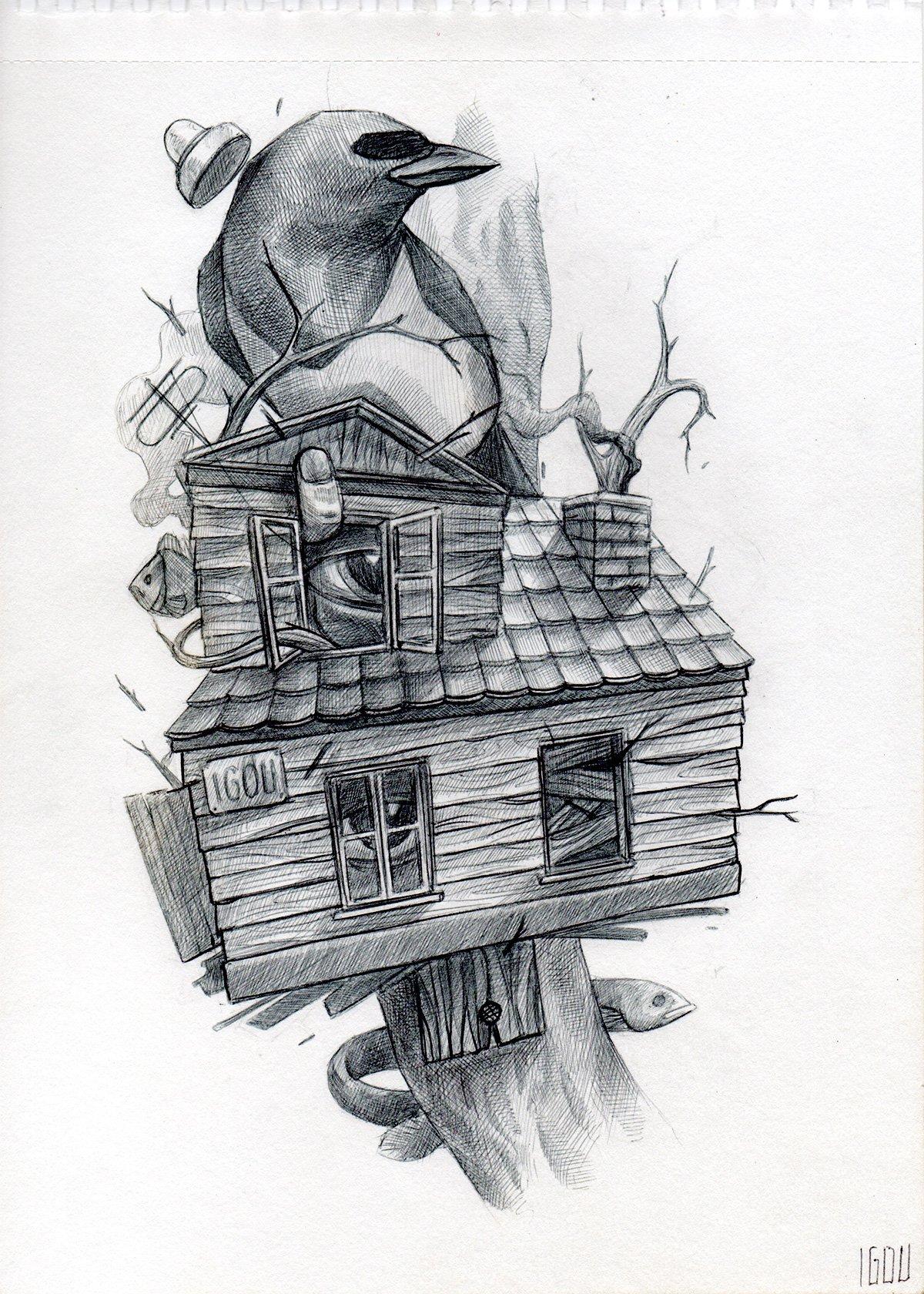 """Image of IGOU """"Sketch 7"""""""