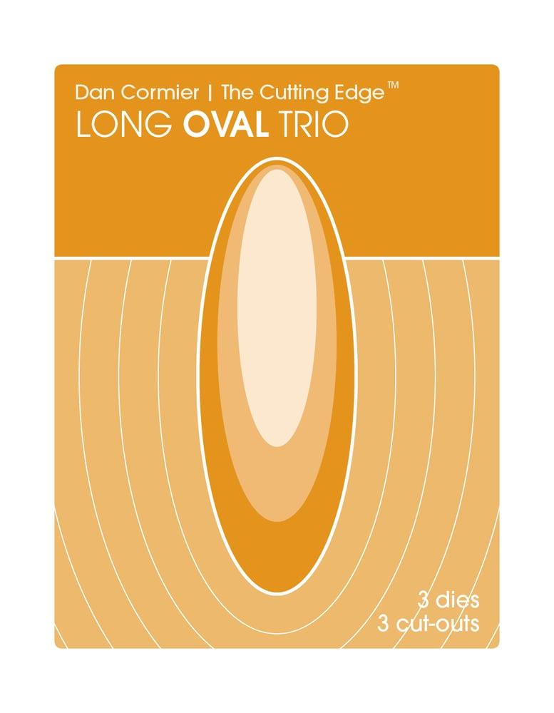 Image of Long Oval Trio Die Set