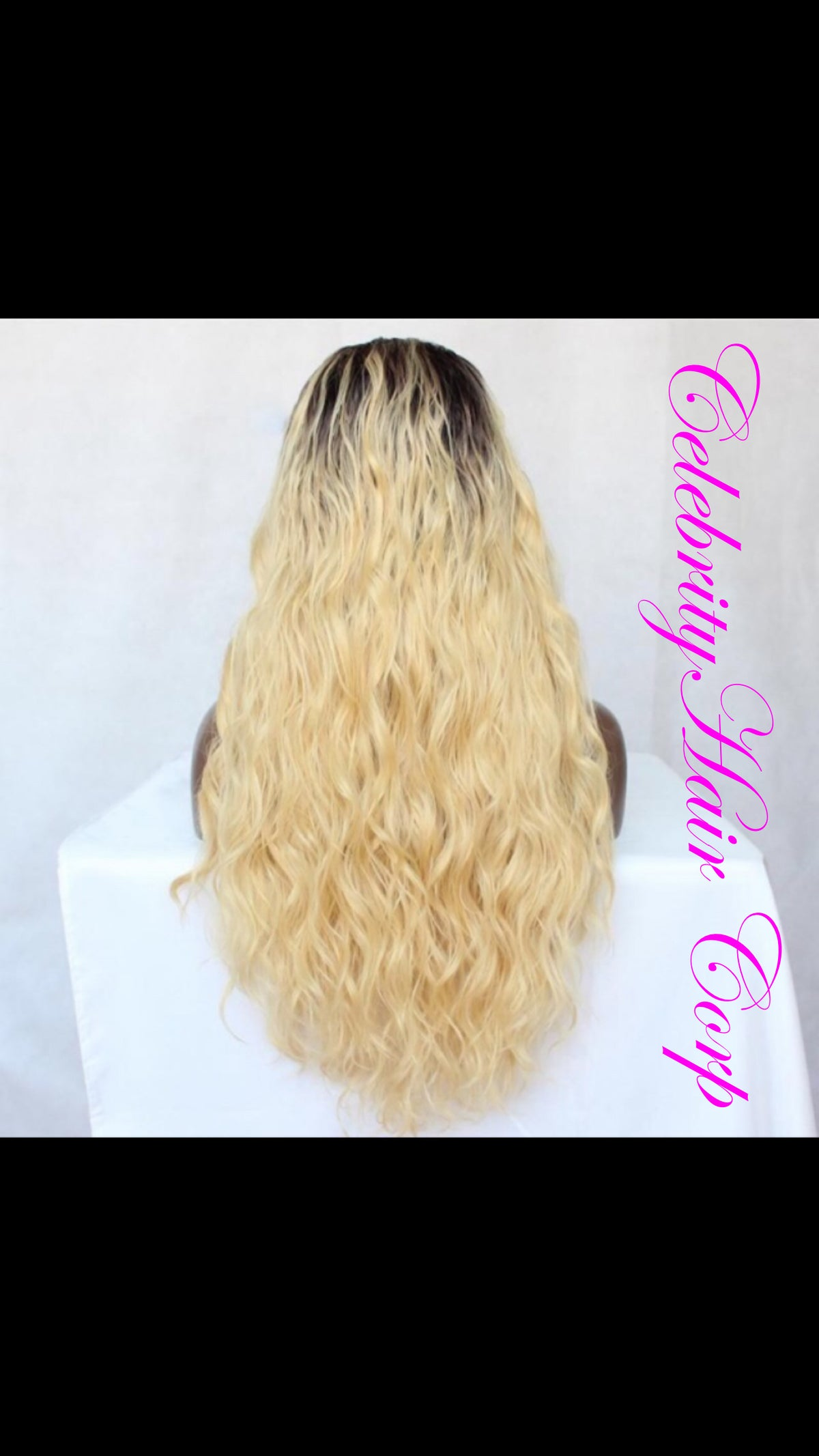 #613 Full Lace & 360° Wig w/Dark Root