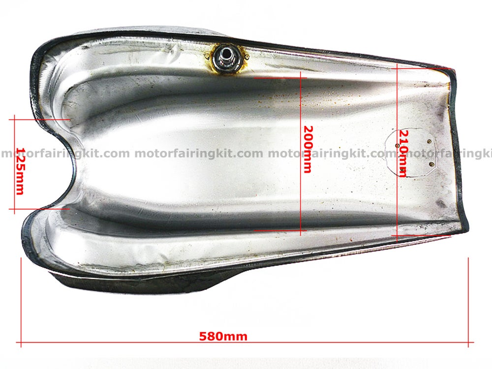 Image of Fuel Tank for Honda GB 250 model - Model 2