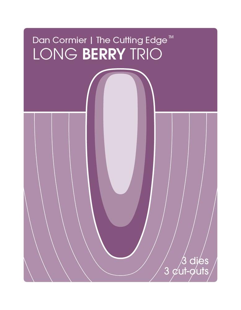 Image of Long Berry Trio Die Set
