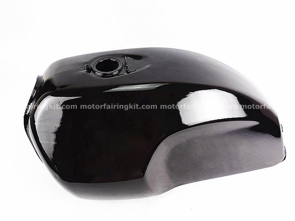Image of Fuel Tank for Honda GB 250 model - Matte/ Glossy Black