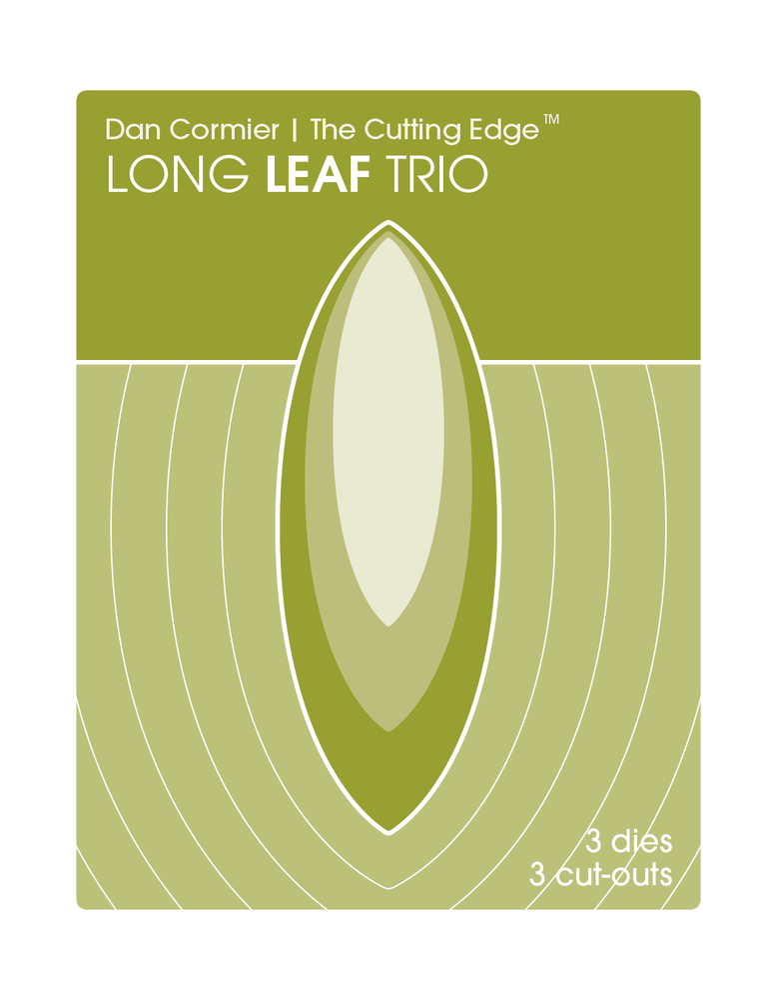 Image of Long Leaf Trio Die Set