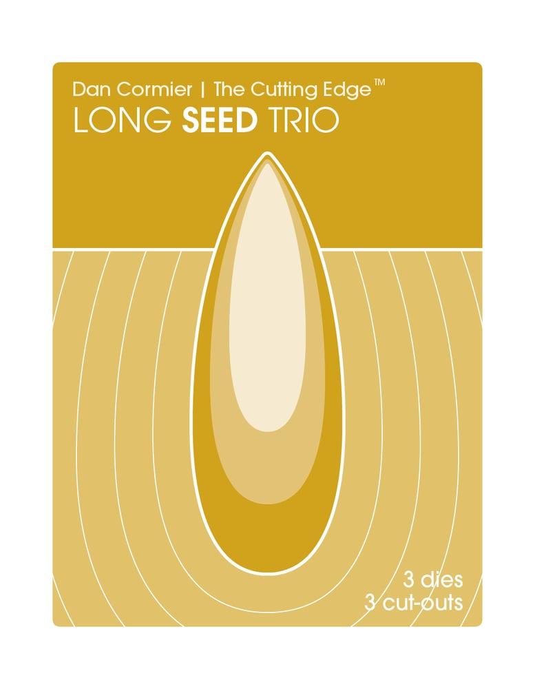 Image of Long Seed Trio Die Set