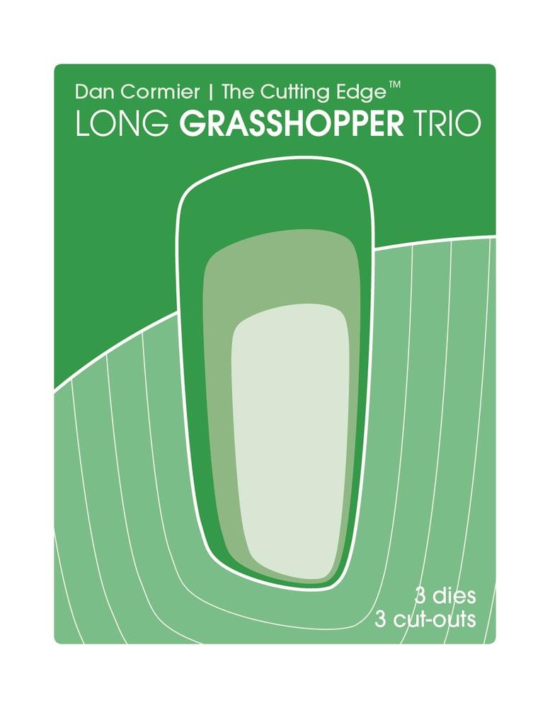 Image of Long Grasshopper Trio Die Set