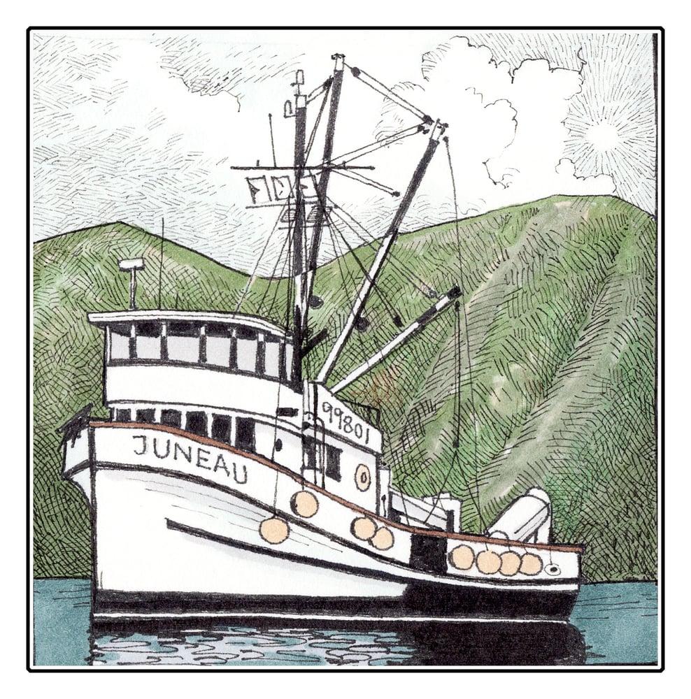 """Image of Tender Juneau 3 1/2"""" X 3 1/2"""""""