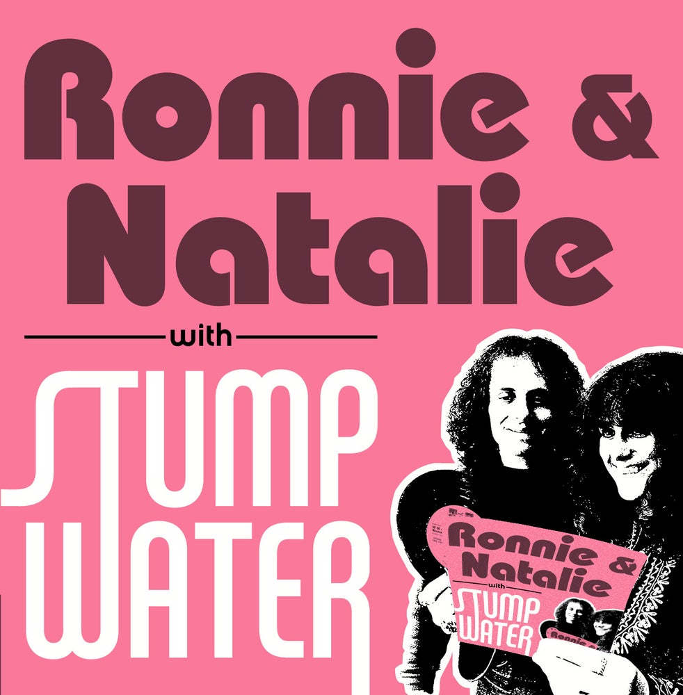"Image of RONNIE & NATALIE with STUMPWATER (1972) 7"" 45"