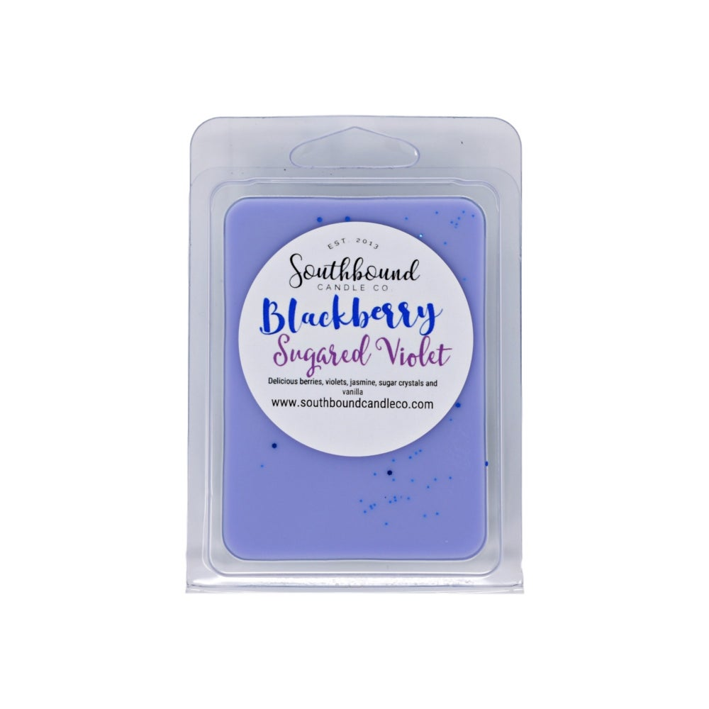 Image of Blackberry Sugared Violet Wax Melts