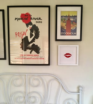 Image of Framed Kiss