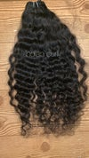 Single bundle raw Indian curly