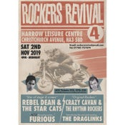 "Image of ""ROCKERS REVIVAL #4""  GIG TICKETS: 2nd NOVEMBER 2019 HARROW LEISURE CENTRE, UK"