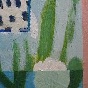 Image of Contemporary Painting, 'Muscari,' Poppy Ellis