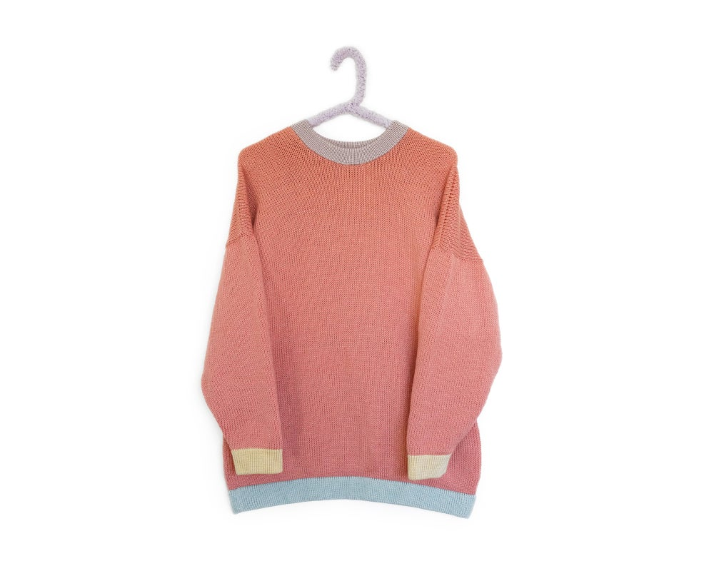 Image of Colour Block - Vintage Peach