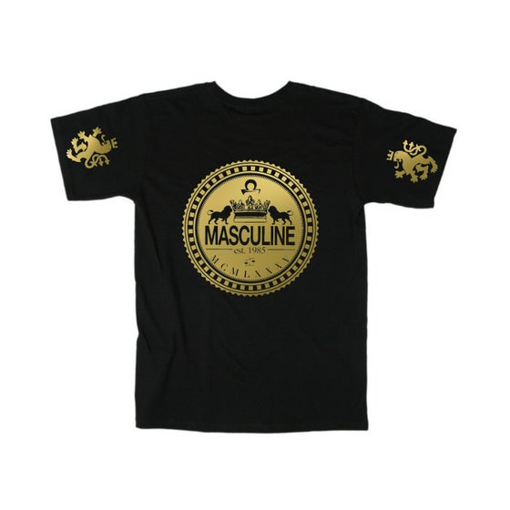 Image of (Classic) Masculine Greatness GOLD Tee