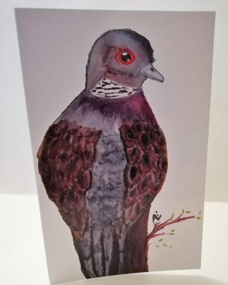 Image of Turtle Dove card