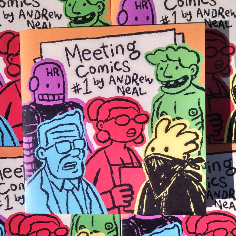 Image of Meeting Comics #1