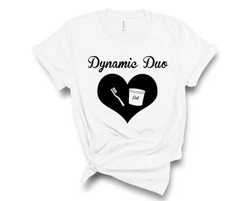 """Image of """"Dynamic Duo"""" Tee"""