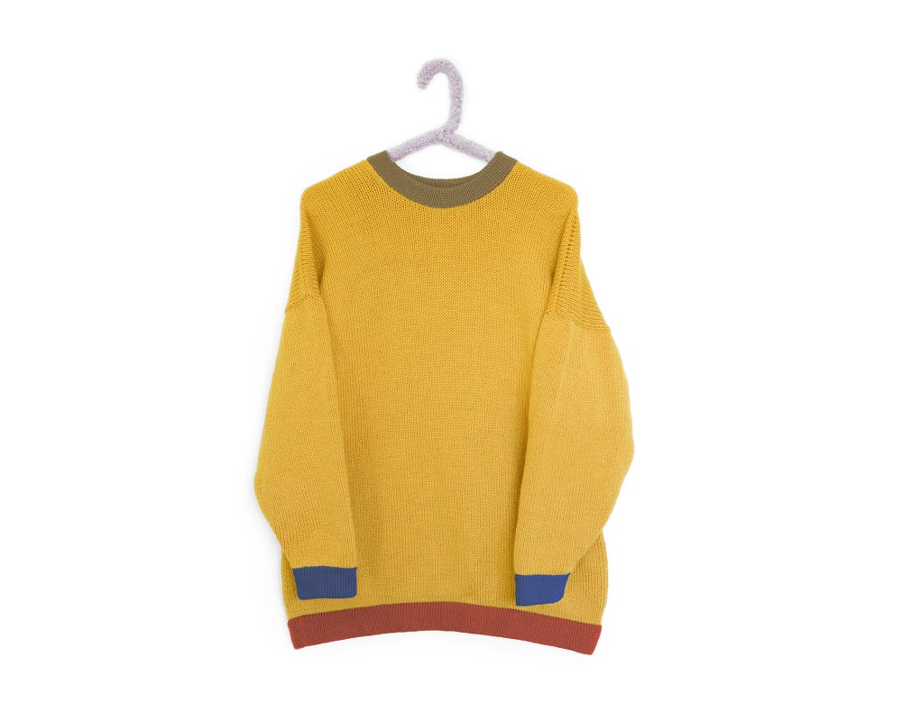 Image of Colour Block - Mustard