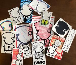 Image of BWR Sticker Pack