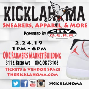 Image of Kicklahoma OKC 2.24.19 Powered by City Gear
