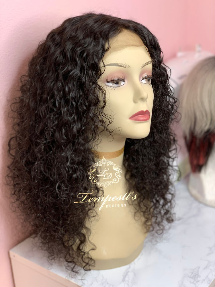 Image of Lace Closure Curly Unit