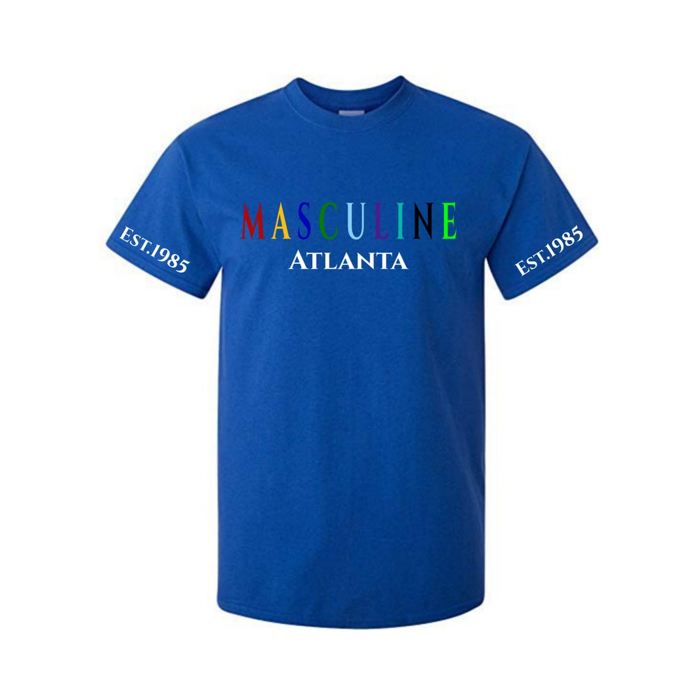 Image of MASCULINE STATEMENT TEE (Blue)