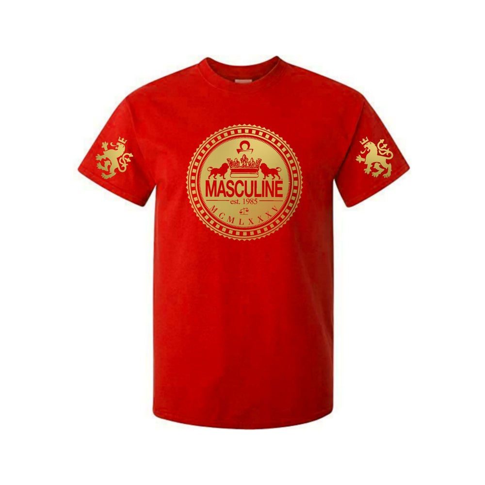 Image of (Classic) Masculine Greatness Red Tee