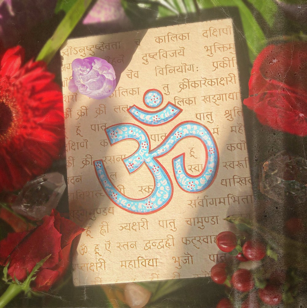 Image of Hand-Painted Om Journal
