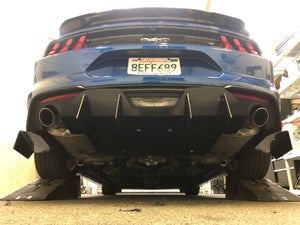 Image of 18'-19' Ford Mustang rear diffuser