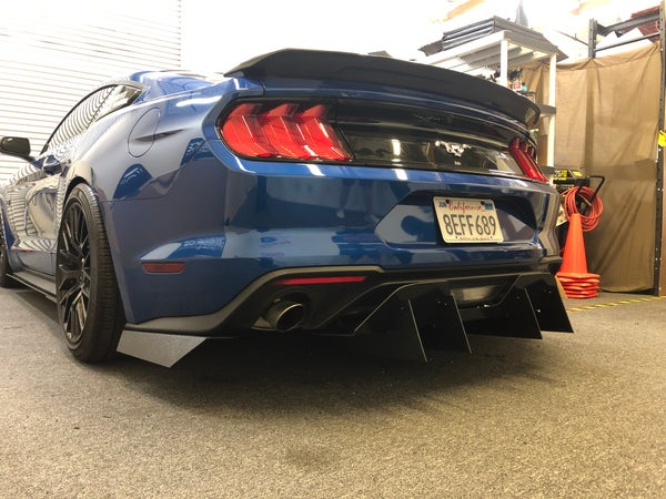 Image of 18'-20' Ford Mustang rear diffuser