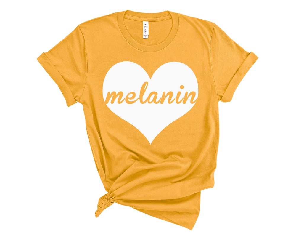 "Image of ""Melanin Love"" Tee"
