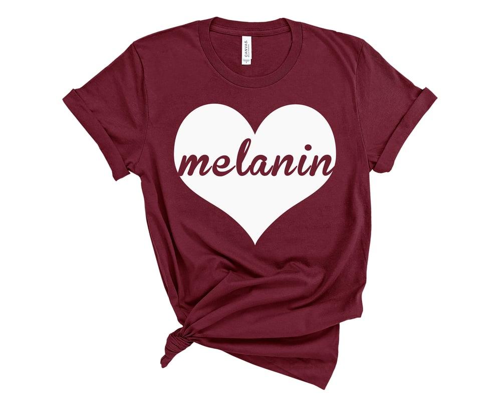 "Image of ""Melanin Love"" Tee"