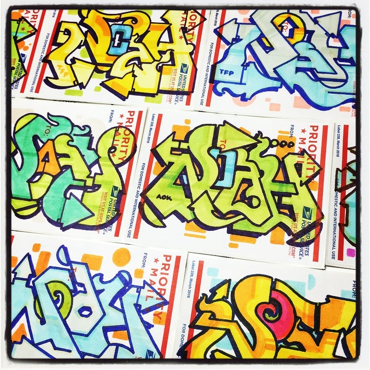 Image of NOAH AOK STICKER PACKS