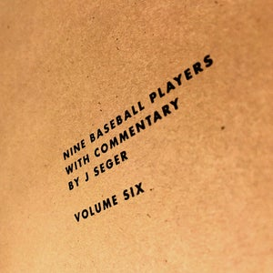 Image of Nine Baseball Players With Commentary Vol. 6