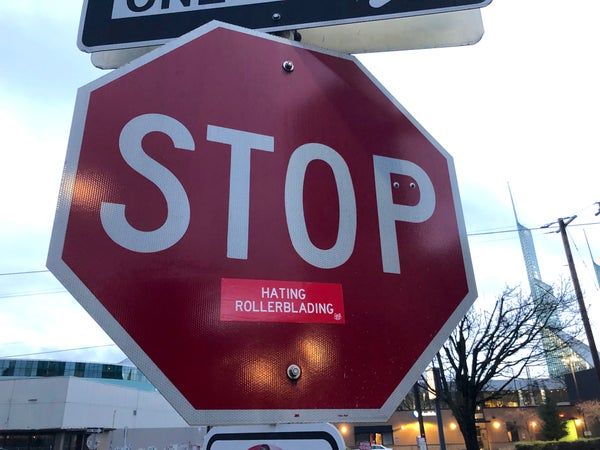 Image of Stop Sign Sticker Pack